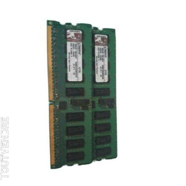 Kingston kvr667d2d8p5k2/4gb kit ddr2 pc2-5300p 667mhz ecc re