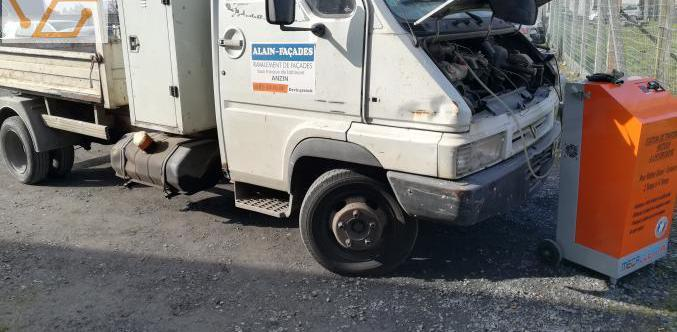 Nettoyage et depollution moteurs a l'hyd...