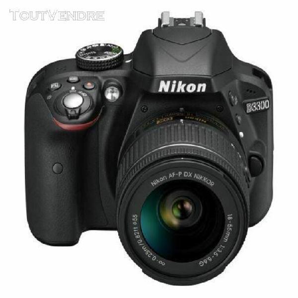 Nikon d3300 appareil photo numérique reflex 24,2 mpix kit