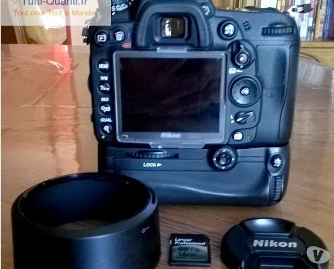 Nikon d7000 + nikkor af-s 50 mm g + grip + 3...