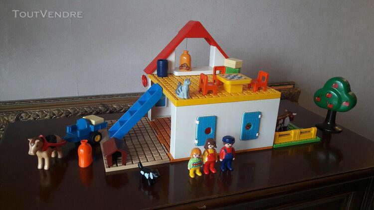 Playmobil 6750 coffret grande ferme 123 - très bon état et