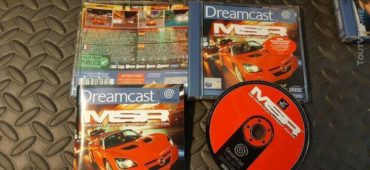 Prix choc ! lot de 4 jeux dreamcast sega (resident evil,ferr