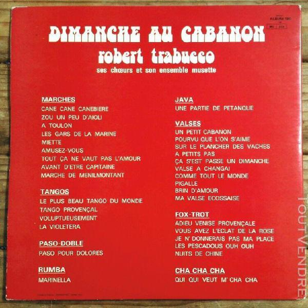 Robert trabucco -2x33t- dimanche au cabanon -30 titres- fest