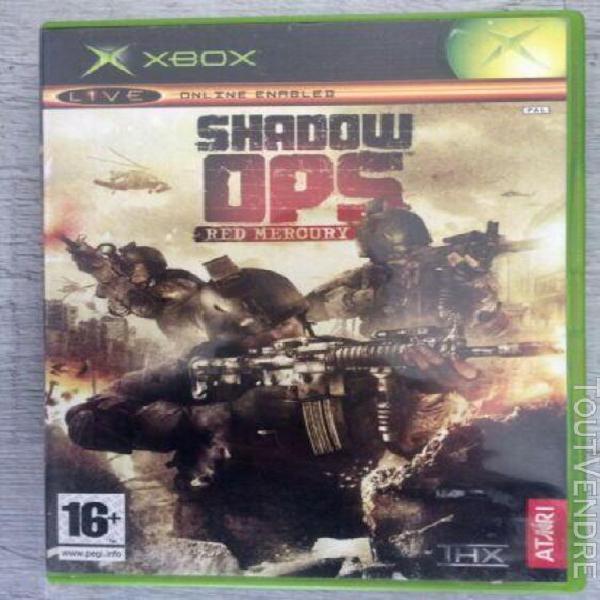 Shadow ops xbox version pal bonne etat