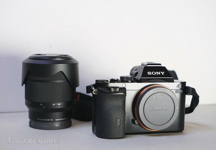 Sony alpha 7 avec objectif sony fe 28-70 mm f3,5 – 5,6 -