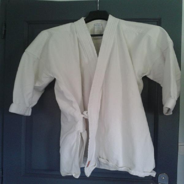 """Veste kimono """"karaté"""" adulte okayama 510 domyos occasion,"""