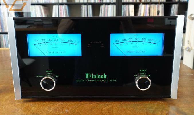 Amplificateur de puissance mcintosh mc352