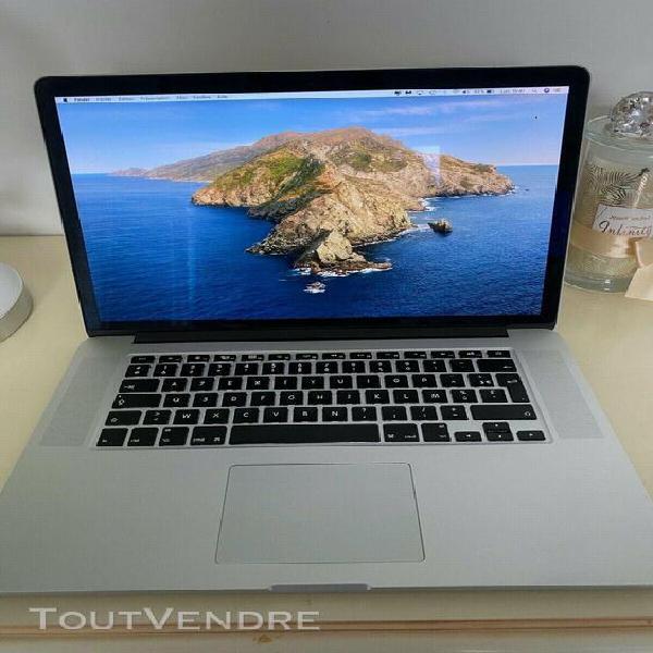 Apple macbook pro retina 15 pouces intel core i7 2,2ghz, 16g