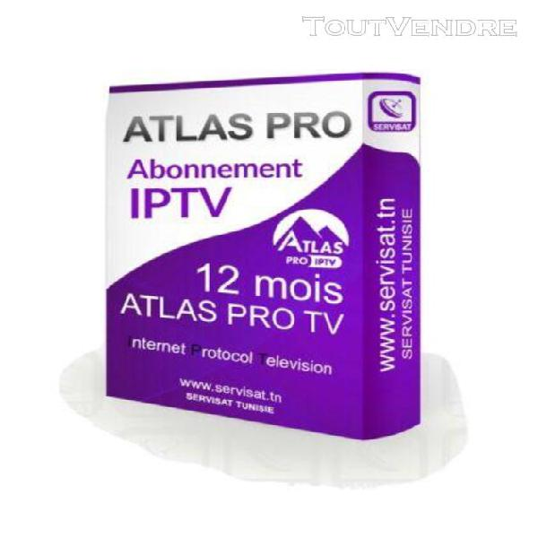 Atlas pro tv premium 12 mois android et ios série et film