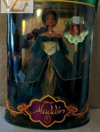 Barbie disney's aladdin holiday jasmine...