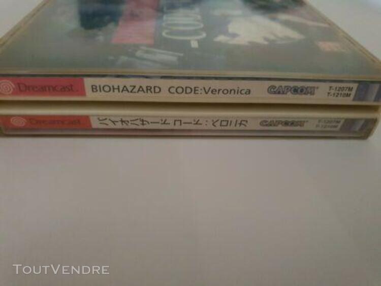 Biohazard code: veronica / dreamcast /neuf et complet