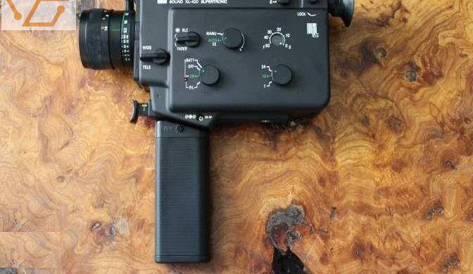 Caméra super 8 sankyo sound xl