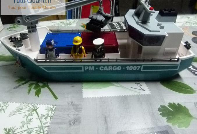 Cargo avec grue de chargement playmobil ? 525...
