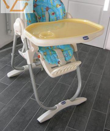 Chaise bébé marque chicco