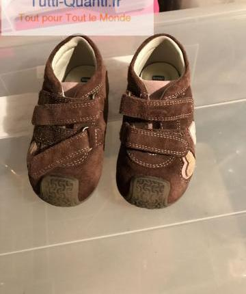 Chaussures enfant chicco marron occasion