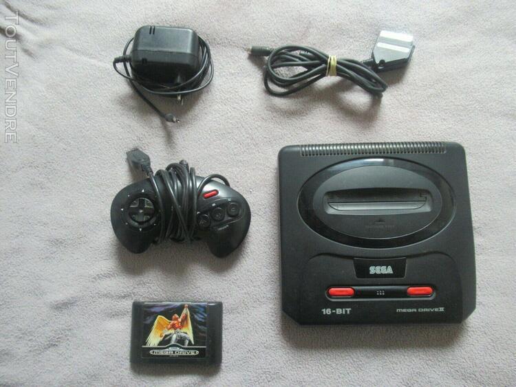 Console sega mega drive complet + 1 jeux (pal)
