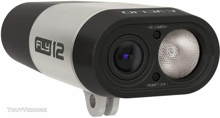 Cycliq fly12 1080p hd camera and 400 lumen bike light