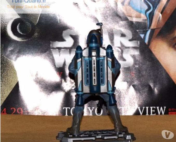 Figurine jango fett jet pack sonore