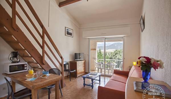 Location appartement f2 calvi 5personnes dès 380€ par