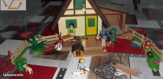 Maison forestière playmobil