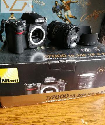 Nikon d7000 pack 18-200 vr ii kit neuf