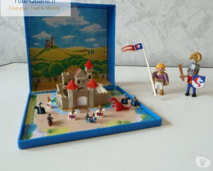 Playmobil aimanté - micro chevaliers 4333