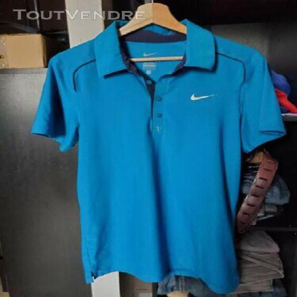 Polo tennis nike roger federer rf, bercy 2011, taille s