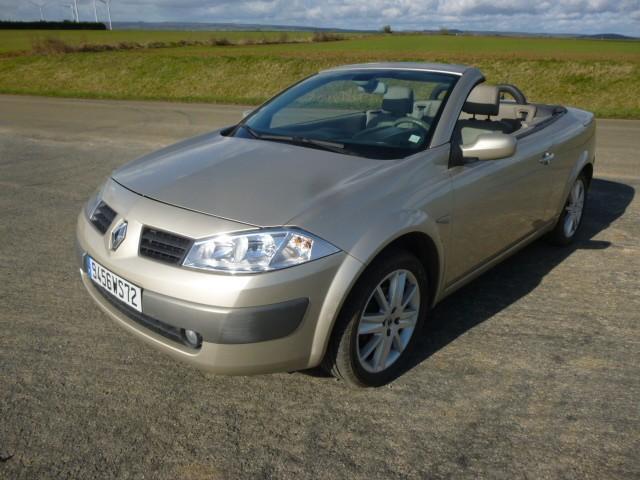 Renault megane cc diesel conlie 72   5990 euros 2003