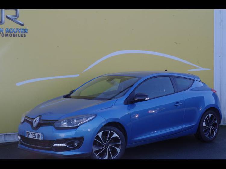 Renault megane coupe essence lucon 85 | 11985 euros 2015