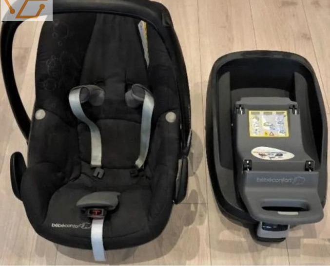 Siège auto (bébé confort+base isofix)