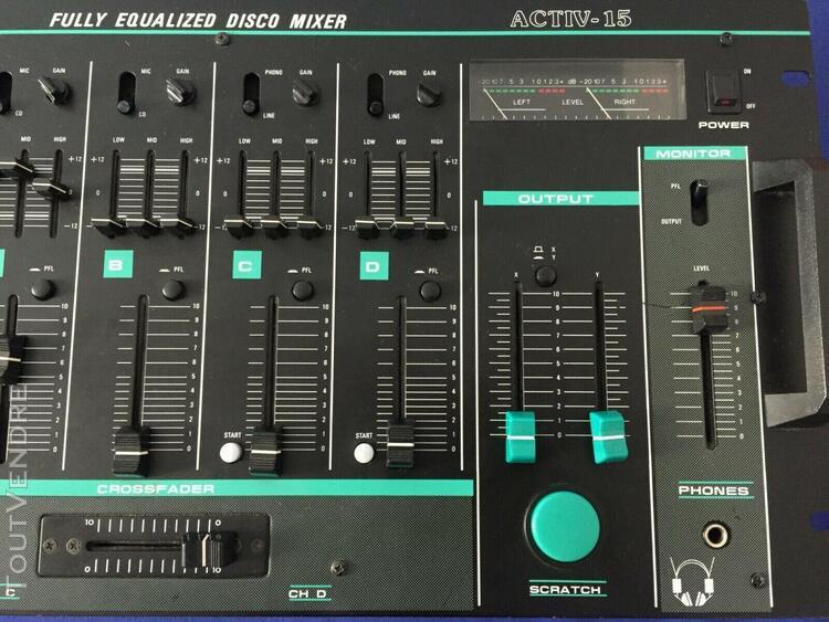 Table de mixage active-15 bst