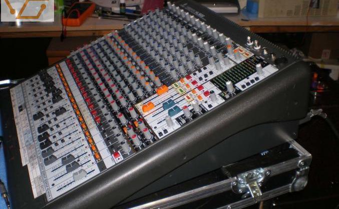 Table mixage midas behringer xenyx xl1600