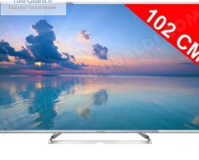 Téléviseur panasonic - tv led 4k 3d 102 cm...