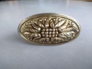 Ancienne poignée bronze porte serrure chateau handle door