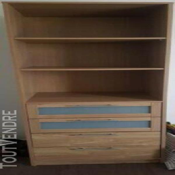 Caisson chambre bedroom dressing 4 tiroirs armoire rangement
