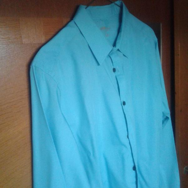 Chemise bleu occasion, trélazé (49800)