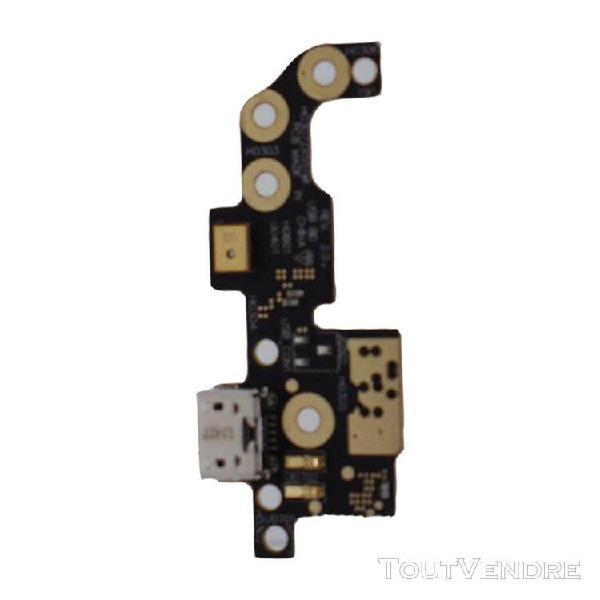 Connecteur flexible de port de charge micro usb pour