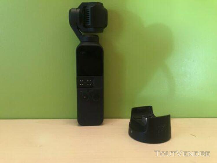 Dji caméra sportive osmo pocket+4filtres nd+perche+ module