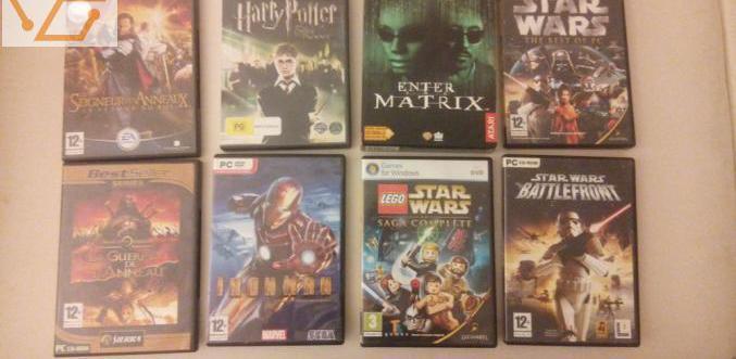 Jeux vidéo retrogaming pc divers (star wars,...