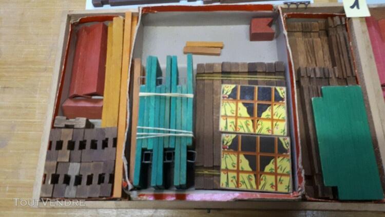 Jouet de construction jeu jura 2 boîtes forestiere baby