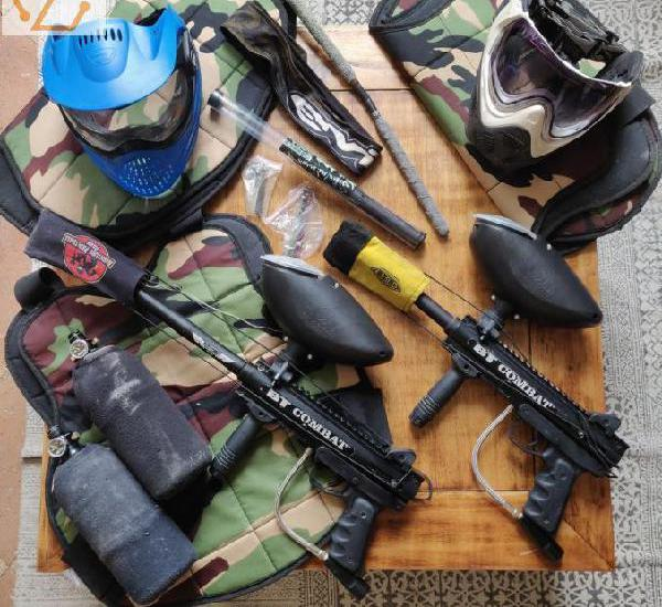 Kit complet paintball