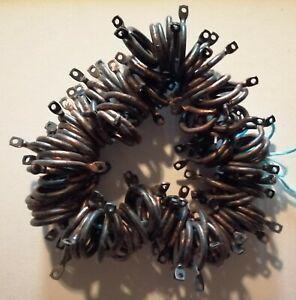 Lot de 110 œillets pour rideaux coloris noir cuivre