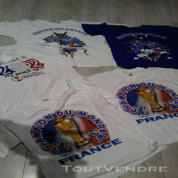 Maillot équipe de france 98 tee shirt