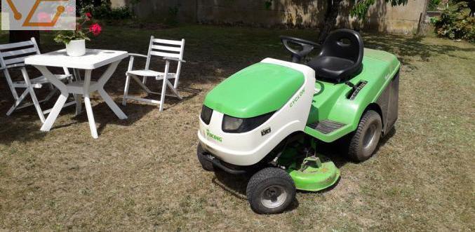 Micro tracteur tondeuse semi pro, l coupe 90...