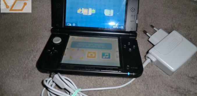 Nintendo 3 ds xl + un jeu: pokemon (en très...