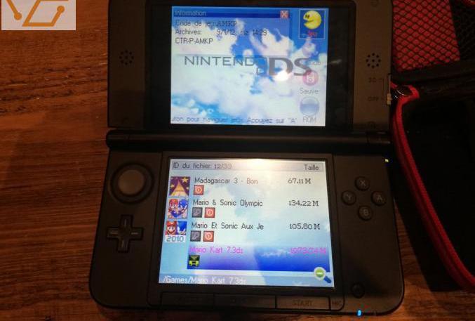Nintendo 3ds xl avec carte r4i
