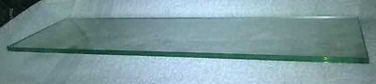 Tablette / etagère en verre 62 cm x 19 cm