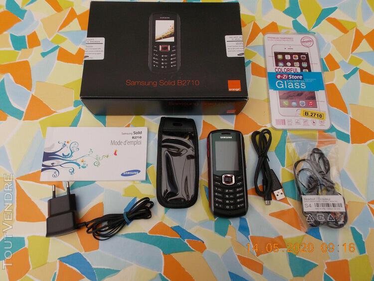 Téléphone portable samsung gt b2710 (sans simlock) en