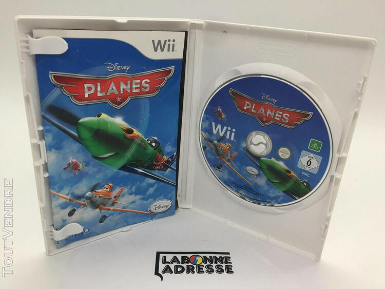 Wii jeu video planes - disney - complet - nintendo - multi-l