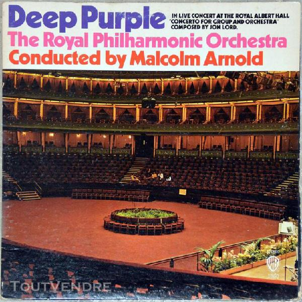 33t deep purple - the royal philharmonic orchestra conducted